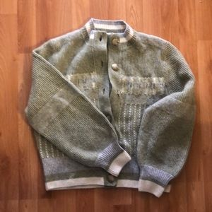 Unique & Other Stories Green M Cardigan